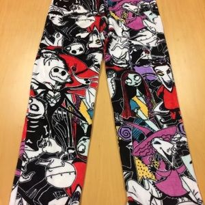 Pants - NWOT Nightmare Before Christmas Plush pajama pants